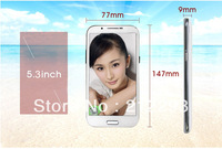 in stock!! 5.3''  1G RAM N7100 Note 2  Android 4.1 3G Mobile Phone MTK6577 Dual Core+4G WIFI GPS