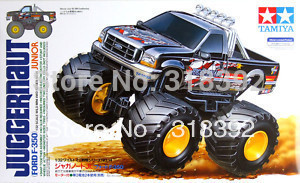 Tamiya 17014 1/32 Wild Mini 4WD Series No.14 Juggernaut Ford F-350 Junior kit 1:32 assembly plastic Car free shipping wholesale