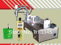 5-300ml semi automatic single head pneumatic piston tube liquid paste filling machine