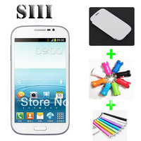 Promotion S3 S4 i9300 MTK6515 Android 4.0 Wifi Bluetooth Dual Camera 4.3 Inch Capacitive Screen Android Phone Unlocked
