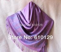 The women fashion pashmina scarf  kerchief autumn -summer accessories alibaba express hip hop waterweeds cashew style purple