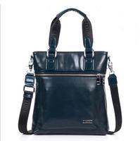 Free shipping  in stock Shoulder and Tote Genuine leather men's bag for business Handbag Danjue brand designer 8717-2