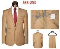 New 2014 Word a Man's groom suit  Dress (Jacket + Pants) Classic Suit Men's Wedding Dress Suit  Size S M L XL XXL XXXL
