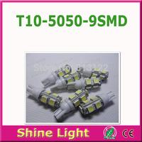 30 pcs T10 9 SMD 194 168 W5W 5050 9 LED Auto Clearance Signal Light Bulbs