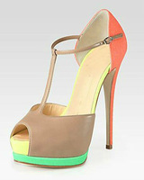 Factory wholesale mixed colors of professionally produced fashion high heels Banquet heeled sandals