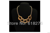 Min.Order is $15 European and America Gold Vintage Jewelry Personality  Chokers Chains Necklaces Wholesale Free Shipping#48573