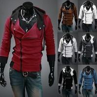 Hot Selling Classic Men's Hoodies Fashion Uprising Men's with a hood Sweatshirt Men Outerwear Cardigan Casual Slim Sweatshirt