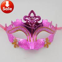 on sale gold cross woman party mask venetian masquerade ball prop Halloween costume christmas gift 20pcs/lot TAOS free shipping
