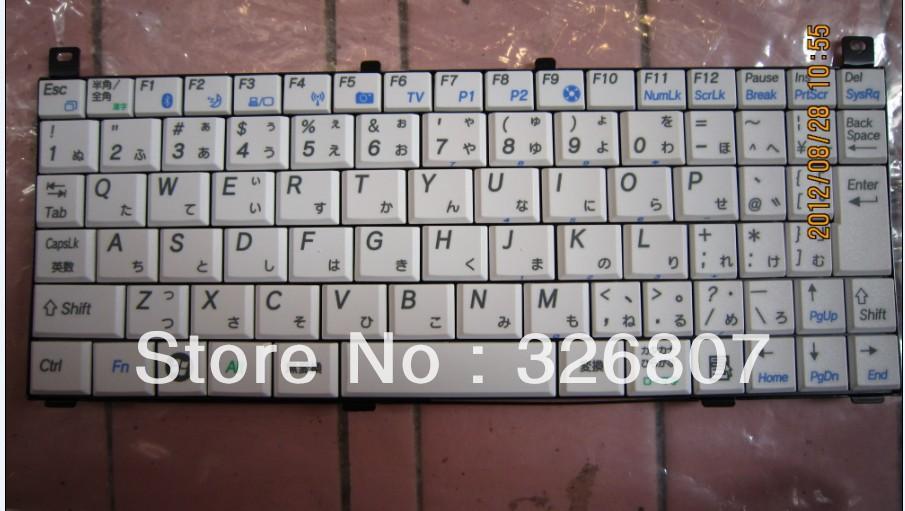 for SH6 SH8 KOHJINSHA series Laptop keyboard K001226G1 6037B0023301(China (Mainland))