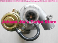 TF035/49135-03411 ME191474 Turbocharger for MITSUBISHI Pajero III,Shogun,Engine:4M41 3.2LD 160HP 2000-2006