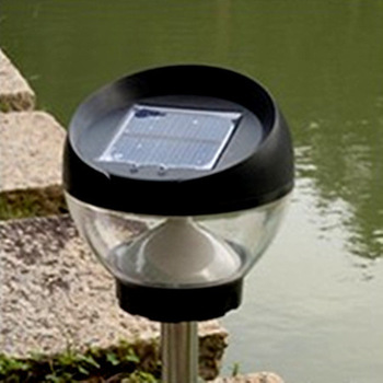 Free Shipping  Solar 0.38 w 3.7V 450mAh drive midge-ground lamp waterproof lamp LED light garden lamp courtyard