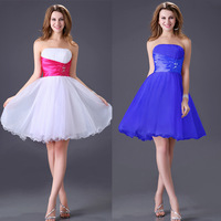 Free Shipping 1pc/lot 2013 New Western Style Grace Karin Junior Short Prom Dance Dresses CL4097