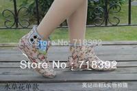 Stylish women wellies short rain boots rain or shine boots garden buckle overshoes water shoes