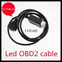 red  and silvery CDP+need to use Led OBD2 cable for autocom cdp+pro tool ,free shipping ,only use for serial number is 100251