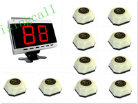 wireless calling system,service button for welfare house. 10 pcs white APE560 bell and 1 pc APE9000 display panel receiver