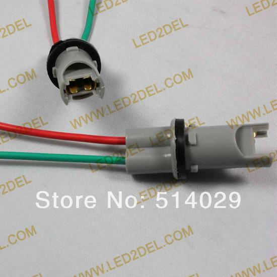 High-temperature LED bulb T10 socket T10 T15 bulb holder W5W 194 light lamp cable adaptors holder 50pcs/lot free shipping!(China (Mainland))
