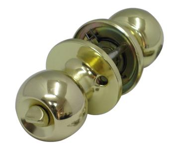 Door Lock Global Knob Door Hardware Door Ball Lock Gold Plated Lock Set 607