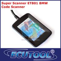 Wholesale price  Super Car Diagnostic Scan Tool ET801 for OBD II Car Super Scanner OBD2 OBD Code Reader