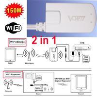 Vonets VAP11N  Mini Wireless WiFi Signal Bridge & Repeater World's Smallest 150M for STB IPTV Sky Box X-BOX Free Shipping