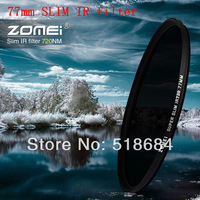 Wholesale high quality ZOMEI brand Slim IR Filter 77mm Infrared X-Ray IR Pass Filter 720NM 77 MM lens camera