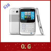 G16 Original Unlocked ChaCha A810 Cell phone 3G GPS WIFI 5MP Qwerty keyboard Free Shipping