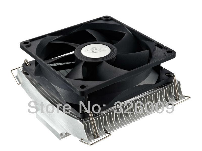 9cm fan 2 heatpipe aluminum, staggered fin, Ultra Quiet,NVIDIA /ATI Graphics Cooler,GPU Fan, GPU Radiator deepcool V90 Yun Yi(China (Mainland))