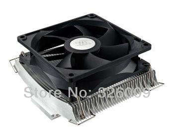 9cm fan 2 heatpipe aluminum, staggered fin, Ultra Quiet,NVIDIA /ATI  Graphics Cooler,GPU Fan, GPU Radiator deepcool V90 Yun Yi