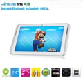 "7"" IPS 1024*600 AMPE A78 Dual Core Android 4.1 RK3066 Cortex-A9 Dual Core 1.6GHz WiFi Dual Cameras Tablet PC"