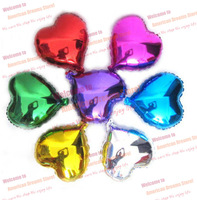 50PCS 10'' Heart Shaped Good Quality Party Balloon,Lustre,Wedding Decoration, Free shipping, New