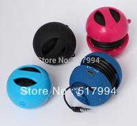 free shipping colors mini hamburger portable speaker for promotion gift
