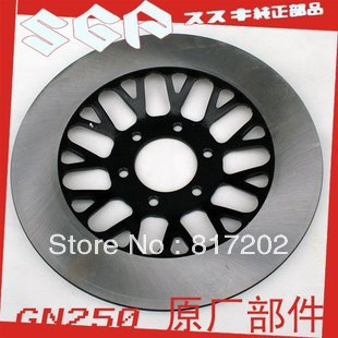 FREE SHIPPING OEM QUALITY FRONT DISK BRAKE SUZUKI GN250 GZ250 NEW PATTERN GN400 GN400 GS250 GS450 BRAKE DISC / ROTOR