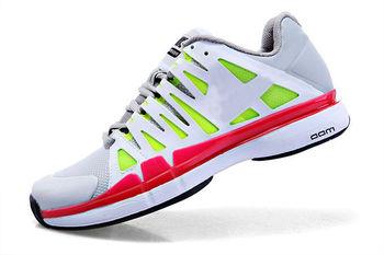 2013 tennis shoe brands athletic shoes for men tenis 9th sport man cheap badminton mesh shoe, with logo