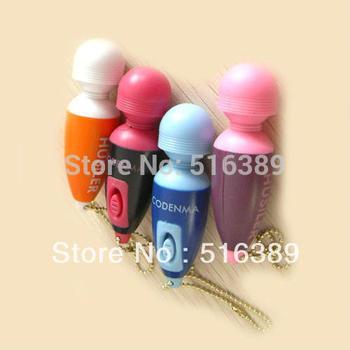 Promotion! wholesale 1.5*6.5cm cute mini g spot vibrating AV magic wand massager vibrator dildos sex toy for women adult toys