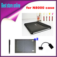 4 in 1 Kits Newest Cover Case for Galaxy Note 10.1 N8010 N8000 Tablet PC 10 Free Shipping