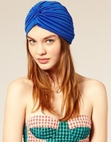 wholesale 10pcs/lot 2014 New Arrival women vintage turban cap headband cap covering towel watermelon hat 18colors free shipping