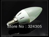 E14 high power 3W Warm White 3528 SMD LED Energy Saving Candle Light Lamp high-effect Bulb 220V Blanc Chaud  New white
