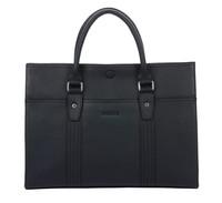 2014 Designer loui leather bags totes bags brand vintage Briefcases bag for man Danjue brand mans bag D8808-1 Black