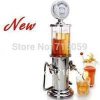 FREE SHIPPING double gun barware mini beer pourer water liquid drink dispenser wine pump dispenser machine