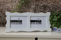 Simple Style white Picture Frame in White 2 lot 5x7 inch