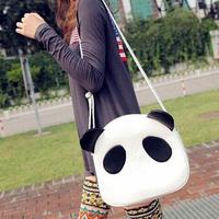 2014 New Brand Panda Shaped Women Messenger Bags/Designer PU Leather Messenger Bags For Women/Casual Women Bags