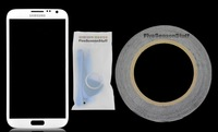 Samsung Galaxy Note II 2 GT-N7100 Front Glass Replacement/Repair Screen (White) With Tool Set, Adhesive  and Film Guard