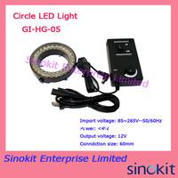 Free Shipping Ring Light LED Microscope Light GI-HG-05