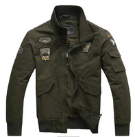2014 Spring men's jacket outdoor military outerwear armbandand cap tooling jackets free shipping N517