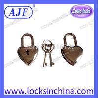 AJF Mini Heart shape diary lock and heart key
