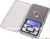 Free shipping 500g x 0.1g Mini Electronic Digital Balance Pocket Gram LCD Display With Retail Box Jewelry weigh Scale 369