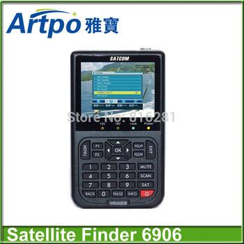 Signal meter DVB-S digital satellite finder meter Satlink WS6906 6906 satlink finder meter