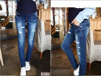 2014 New Promotion Summer Maternity Jeans  Maternity Clothing For Pregnancy Women Pants M L XL YC-011