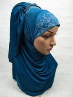 AA498 Popular Newest Meryl longer 70cm al amira MUSLIM HIJAB