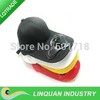 Solar fan cap/Trip cap/The solar shading couple cap with cotton Materials