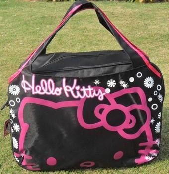 Hello Kitty leisure fashion large capacity travel bags Women   Handbags